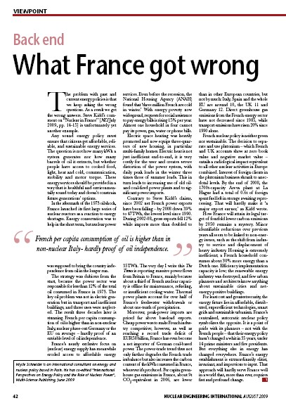 What France got wrong